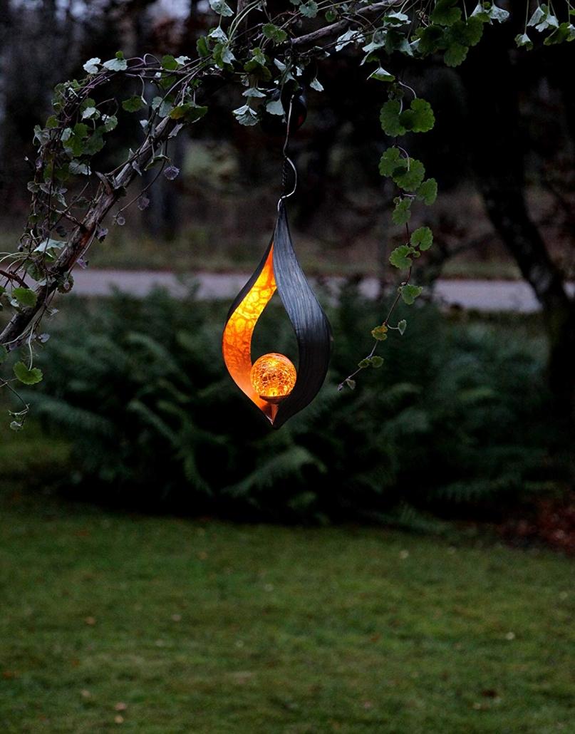 Hängende Gartenlampe