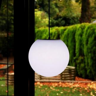 Leuchtkugel hängend