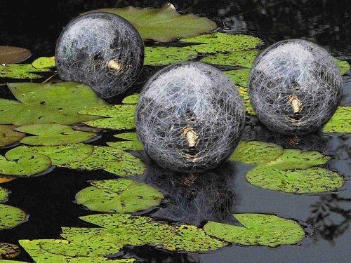 Lichtkugel für den Teich