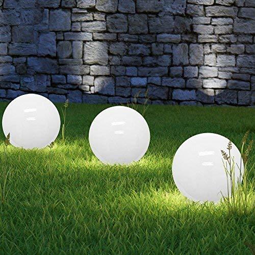 Solar Gartenleuchten Set